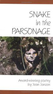 Cover of: Snake in the parsonage: award-winning poetry