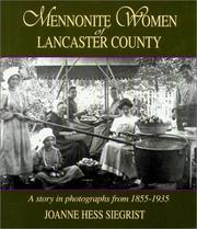 Cover of: Mennonite Woman of Lancaster County