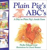 Cover of: Plain Pig's ABCs: a day on Plain Pig's Amish farm
