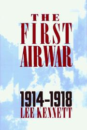 Cover of: The first air war, 1914-1918