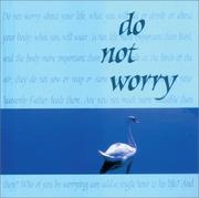 Cover of: Do Not Worry | Good Books