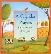 Cover of: A Calendar of Prayers