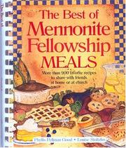Cover of: The Best Mennonite Fellowship Meals