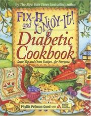 Cover of: Fix-it and Enjoy-it! Diabetic Cookbook: Stove-Top and Oven Recipes-for Everyone! (Fix-It and Enjoy-It!)