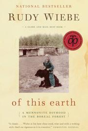 Cover of: Of This Earth