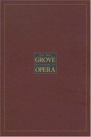 Cover of: The New Grove Dictionary of Opera | Stanley Sadie