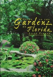 Cover of: Guide to the Gardens of Florida
