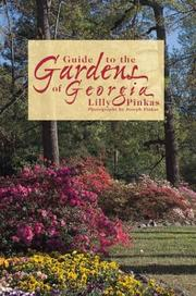 Cover of: Guide to the Gardens of Georgia