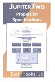 Cover of: Jupiter two propulsion specifications