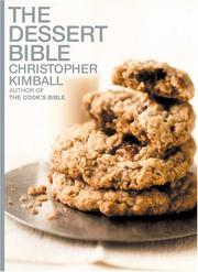 Cover of: The dessert bible
