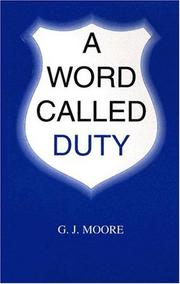 Cover of: A Word Called Duty