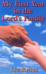 Cover of: My First Year in the Lord's Family