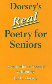 Cover of: Dorsey's Real Poetry for Seniors