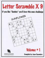 Cover of: Letter Scramble x 9