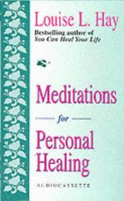 Cover of: Meditations for Personal Healing: Overcoming Fears