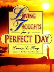 Cover of: Loving thoughts for a perfect day