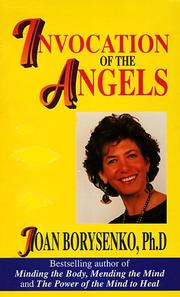 Cover of: Invocation of the Angels