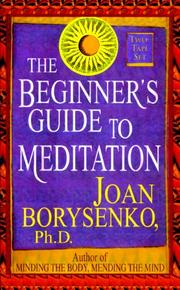Cover of: Beginner's Guide to Meditation