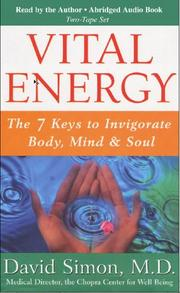 Cover of: Vital Energy