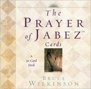Cover of: The Prayer of Jabez Cards