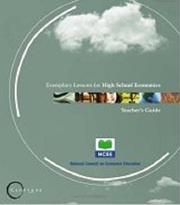 Cover of: Capstone: Exemplary Lessons for High School Economics