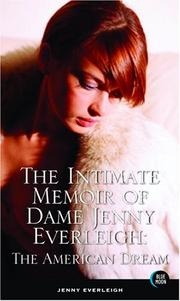 Cover of: The Intimate Memoir of Dame Jenny Everleigh