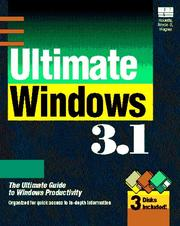 Cover of: Ultimate Windows 3.1