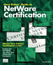 Cover of: New Riders' guide to NetWare certification