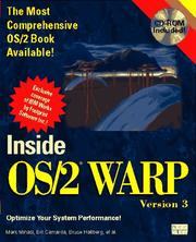 Cover of: Inside OS/2 Warp, version 3