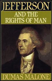 Cover of: Jefferson and the Rights of Man - Volume II (Jefferson and His Time, Vol 2) | Dumas Malone