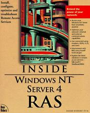 Cover of: Windows NT Server 4