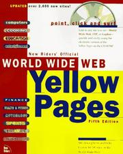 Cover of: World Wide Web Yellow Pages