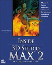Cover of: Inside 3D Studio MAX 2