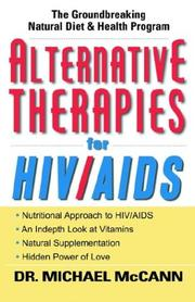 Cover of: Alternative Therapies for HIV/Aids
