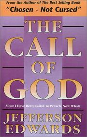 Cover of: The call of God