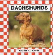 Cover of: Dachshunds