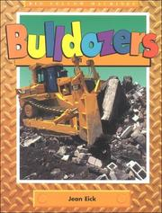Cover of: Bulldozers (Big Yellow Machines) | Jean Eick