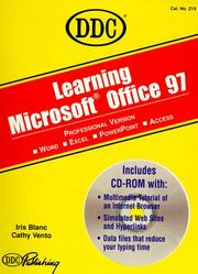 Cover of: Learning Microsoft Office 97