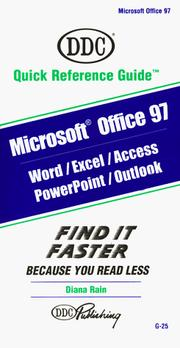 Cover of: Microsoft Office 97