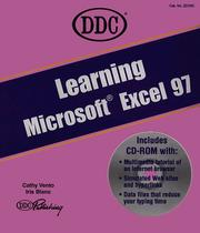 Cover of: Learning Microsoft Excel 97 (Learning Series) | Cathy Vento