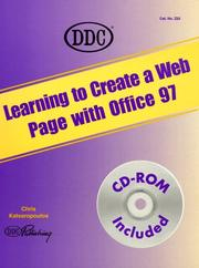 Cover of: Create a Web Page with Microsoft Office 97 (Learning)