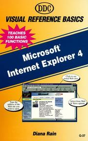 Cover of: Microsoft Internet Explorer 4