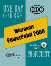 Cover of: PowerPoint 2000, Proficient One-Day Course (One Day Course)