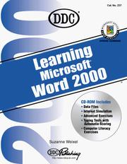 Cover of: Learning Microsoft Word 2000