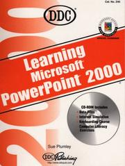 Cover of: Learning PowerPoint 2000