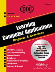 Learning Computer Applications by Lisa A. Bucki
