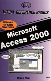 Cover of: Access 2000 Visual Reference Basics
