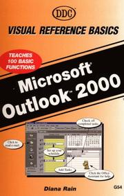 Cover of: Outlook 2000 Visual Reference Basics (Visual Reference Office 2000)