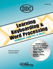 Cover of: Learning Keyboarding and Word Processing Generic Edition