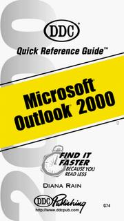 Cover of: Microsoft Outlook 2000